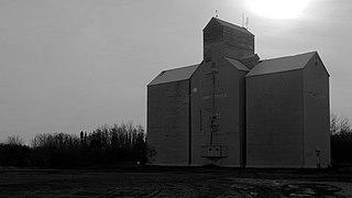 Hines Creek Village in Alberta, Canada