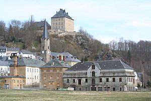 Hirschberg, Thuringia - Image: Hirschberg (Saale) 2008 03c