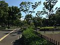 Hisaya-Odori Park on south side of Nagoya TV Tower.JPG