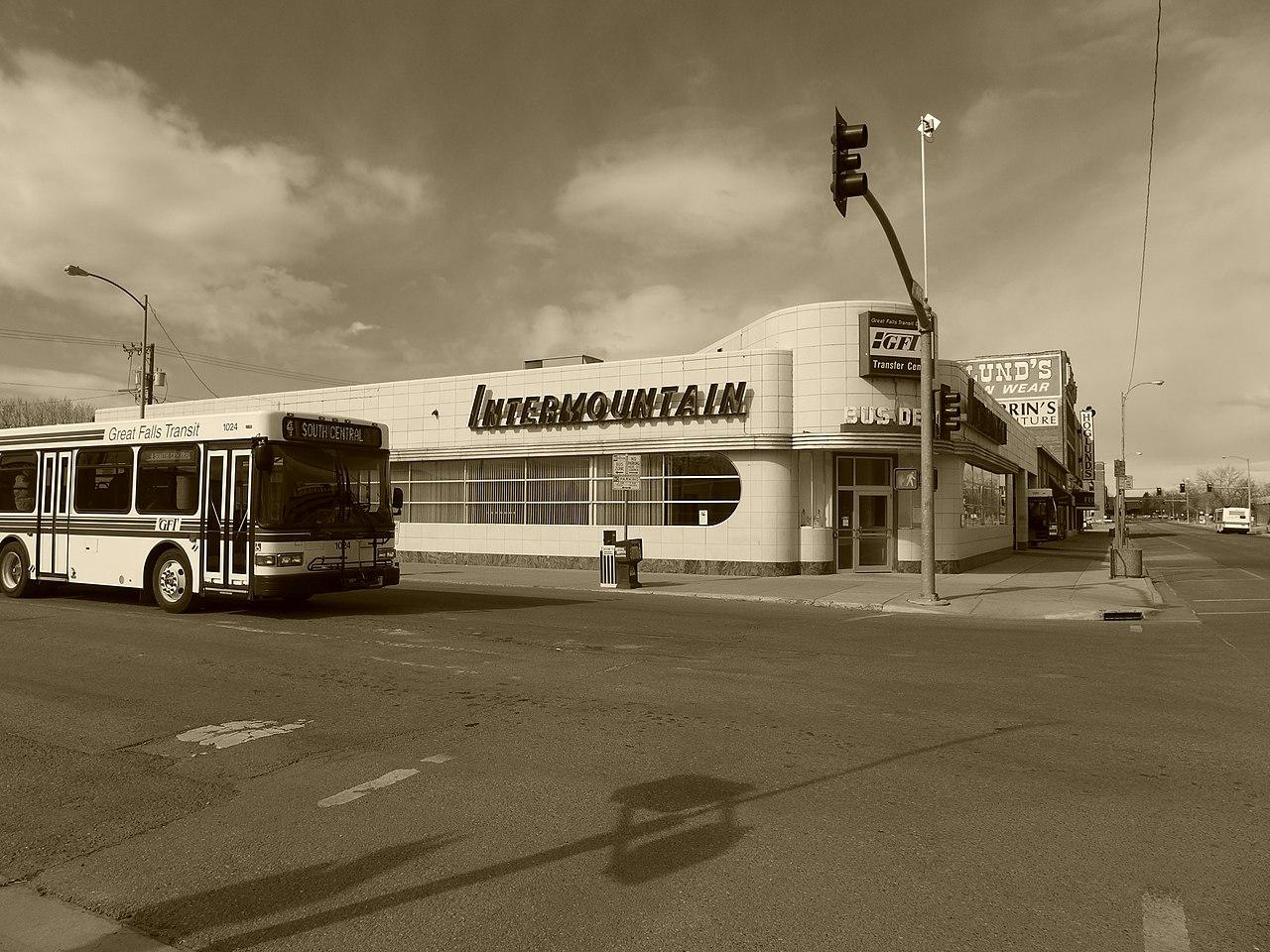 File Historic Great Falls Mt Bus Depot Jpg Wikimedia Commons
