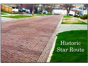 Red Brick Roads - Historic Star Route - NE Maple St.