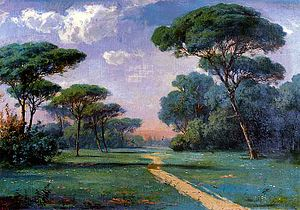 Hoca Ali Rıza - Landscape (1898)