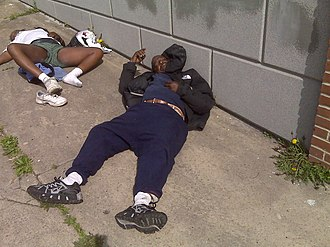 Public intoxication - Public intoxication laws in the United States vary from state to state, and some states consider it a misdemeanor to obstruct sidewalks as a result of intoxication.