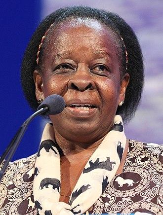 Maria Mutagamba - Image: Hon Dr Maria Emily Lubega Mutagamba, Minister of Tourism, Uganda (26294629095) (cropped)