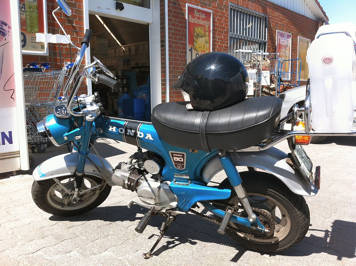 Honda Dax Wikipedia 1970 Ct70 Moped