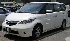 Honda Elysion (first generation) (front), Serdang.jpg