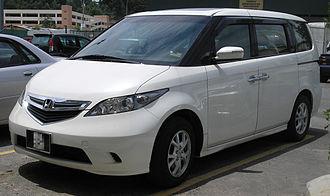 Honda Elysion - Image: Honda Elysion (first generation) (front), Serdang