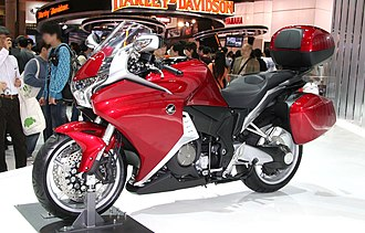 Honda VFR1200F - Image: Honda VFR1200F with Dress up Parts and Accessories