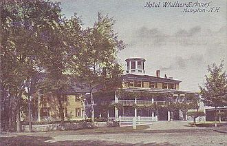 Hampton, New Hampshire - Hotel Whittier c. 1910