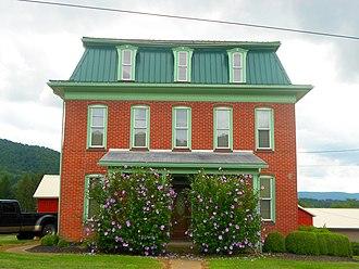 Gregg Township, Centre County, Pennsylvania - Image: House Gregg Township Centre Co PA sr 192 Boones Lane