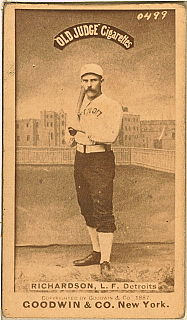 Hardy Richardson American baseball player
