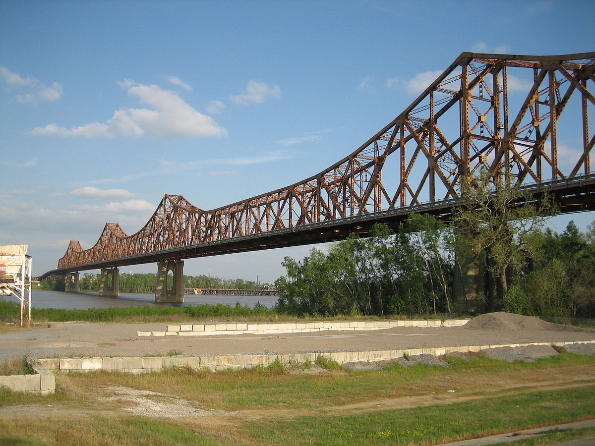 Huey P  Long Bridge (Baton Rouge) - Wikipedia
