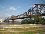 Huey P Long Bridge Baton Rouge northwest 1.jpg