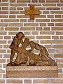 Huissen (Lingewaard) RK kerk kruisweg statie 07.JPG