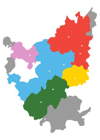 New Xiang - Image: Hunanese Xiang Cities