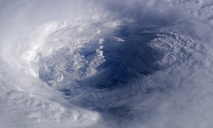 Hurricane Isabel eye from ISS (edit 1).jpg