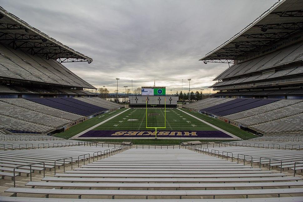 Husky Stadium - March 19, 2016