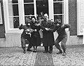 Huwelijk van de buffetjuffrouw Blanken van het theater Carré. Bruidegom en bruid, Bestanddeelnr 904-2749.jpg