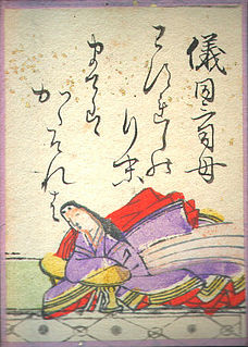 Takashina no Takako Japanese waka poet