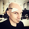 I, Lobot. — Taking the @Thync #neurosignaling wearable for a spin at @runway is. (2015-07-02 19.08.37 by Aaron Muszalski).jpg