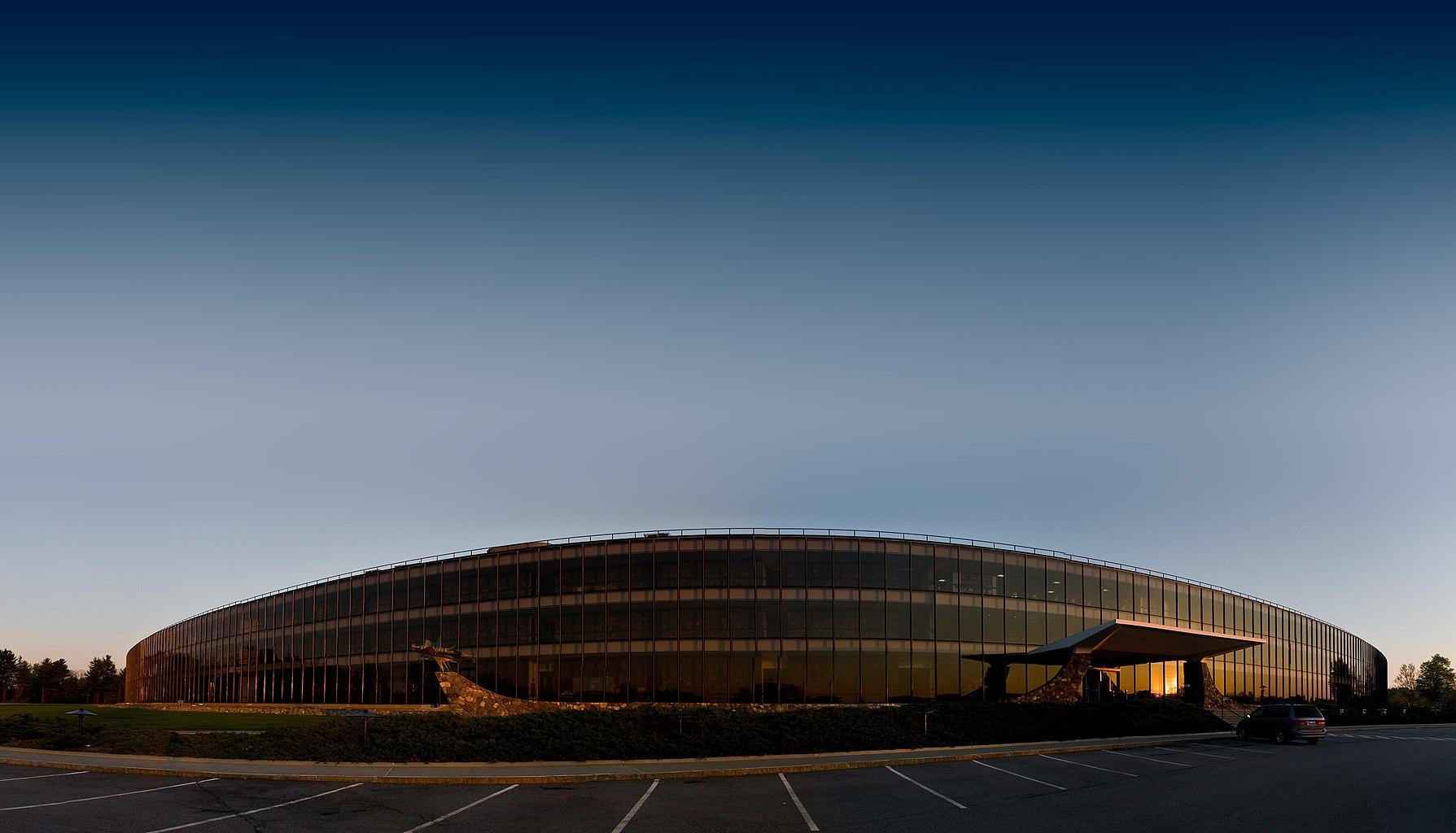 IBM Research headquarters, the Eero Saarinen-designed Thomas J. Watson Research Center in Yorktown Heights, New York.