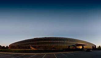 Hudson Valley - The main laboratory building of the IBM Watson Research Center is located in Yorktown Heights.