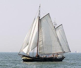 IJsselmeer - Traditional boat on the IJsselmeer