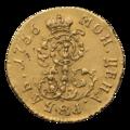 INC-1533-r Рубль 1756 г. Елизавета Петровна Пробная монета для дворцового обихода (реверс).png