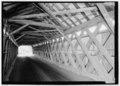 INTERIOR, LOOKING SE. - Beaverkill Bridge, Spanning Beaver Kill, TR 30 (Craigie Claire Road), Roscoe, Sullivan County, NY HAER NY-329-6.tif