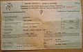 IRELAND 2008 -IRISH CERTIFICATE OF ROAD WORTHINESS - Flickr - woody1778a.jpg