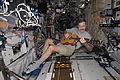 ISS-30 Dan Burbank plays a guitar in the Destiny lab.jpg