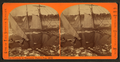 Ice blockade in Marquette Harbor, June 1873, by Childs, B. F..png