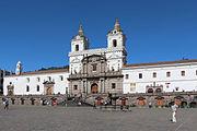 Iglesia de San Francisco, Quito 01