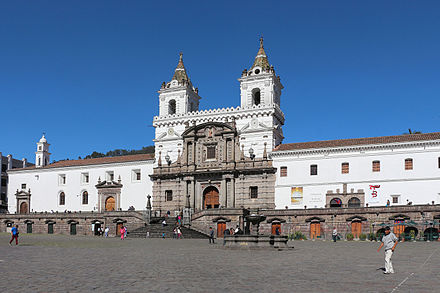 Iglesia y Convento de San Francisco in Quito Iglesia de San Francisco, Quito 01.jpg