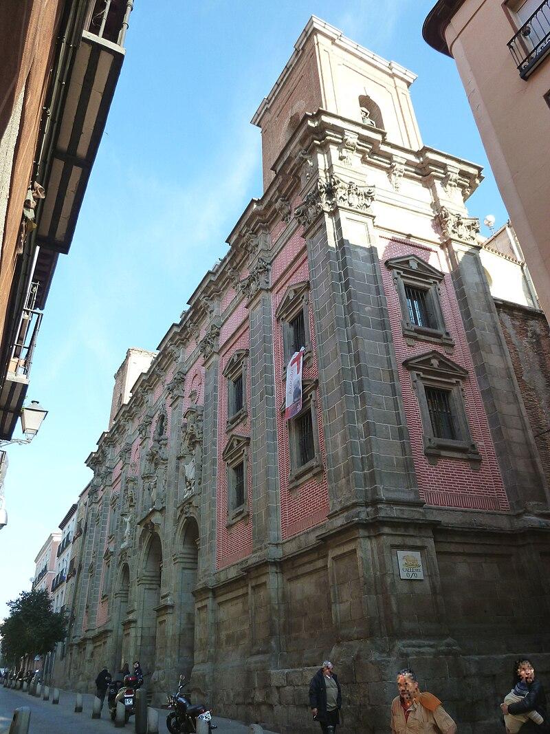 Iglesia de San Millan y San Cayetano en calle Embajadores, Madrid