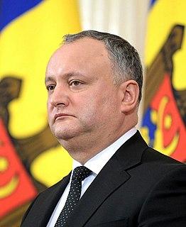 Igor Dodon Moldovan politician
