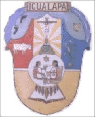 Igualapa - City seal of Igualapa.