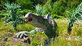 Iguanodon samice, DinoPark Ostrava.JPG