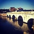 Il Ponte di Tiberio, simbolo della città di Rimini, legame con il passato e porta per il futuro.jpg