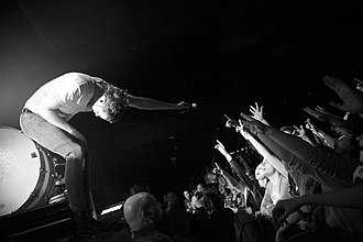 """Radioactive (Imagine Dragons song) - Imagine Dragons performing """"Radioactive"""" at The Pageant in St. Louis, Missouri."""