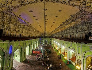 Bara Imambara - The current day interior view