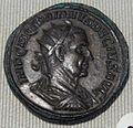 Impero, traiano decio, doppio sesterzio di bronzo (roma), 247.JPG