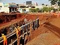 Início das obras anti enchente no Córrego Sul em Sertãozinho. O Córrego Sul fica na avenida Antônio Paschoal, região central de Sertãozinho. As obras foram iniciadas em fevereiro de 2013. - panoramio.jpg