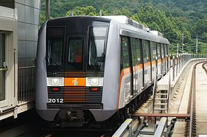Incheon Subway Line 2 - Image: Incheon Metro Class 2000 A01