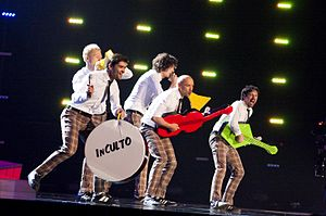 InCulto - InCulto performing at the Eurovision Song Contest 2010.