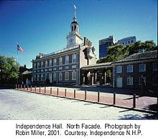 Independence National Historical Park Independence Hallexterior northfacade 03.jpg