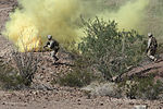 India Company conducts platoon and company combined arms attacks 121005-M-BQ183-001.jpg