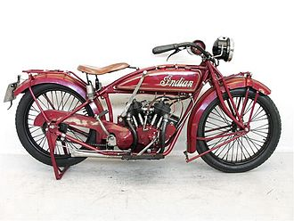 Indian Scout (motorcycle) - Image: Indian Scout 600 cc 1920