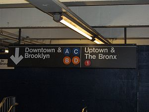 New York City Subway nomenclature - Image: Inside Station
