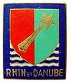 Robert TAURAND 103px-Insigne_Rhin_et_Danube-1%C3%A8rearm%C3%A9e